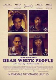 """Movie poster for """"DEAR WHITE PEOPLE"""""""