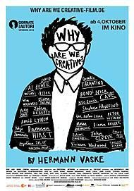 """Movie poster for """"Why Are We Creative?"""""""