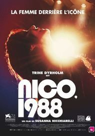 "Movie poster for ""NICO, 1988"""