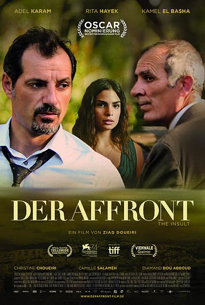 """Filmplakat für """"Der Affront"""""""