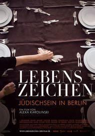 """Filmplakat für """"Lebenszeichen - Jüdischsein in Berlin"""""""
