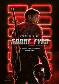"Filmplakat für ""SNAKE EYES: G.I. JOE ORIGINS"""