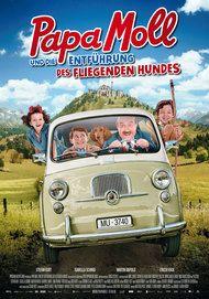 """Filmplakat für """"Papa Moll und die Entführung des fliegenden Hundes"""""""