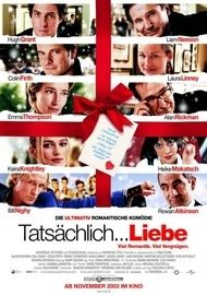 """Movie poster for """"Love Actually"""""""