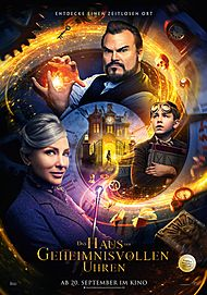 """Movie poster for """"THE HOUSE WITH A CLOCK IN ITS WALLS"""""""