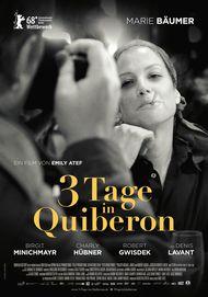 """Filmplakat für """"3 TAGE IN QUIBERON"""""""