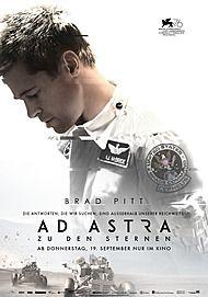 """Filmplakat für """"AD ASTRA - ZU DEN STERNEN"""""""