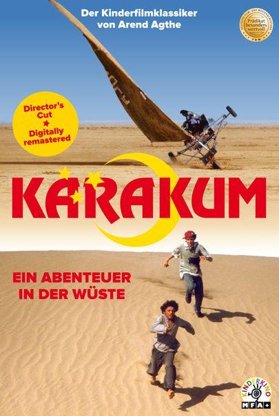 """Movie poster for """"Karakum - Ein Abenteuer in der Wüste (WA)"""""""