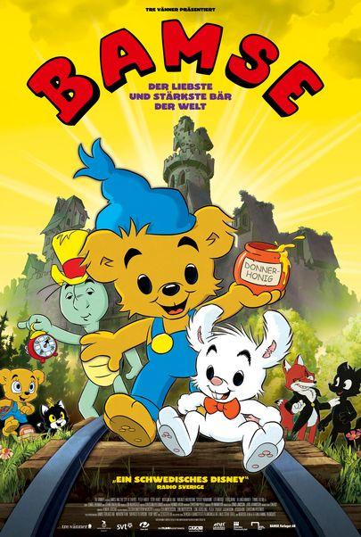 """Filmplakat für """"Bamse - Der liebste und stärkste Bär der Welt"""""""