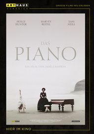 """Movie poster for """"The Piano"""""""