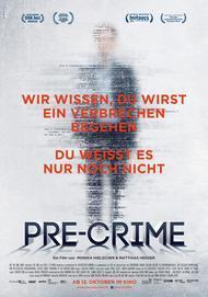 "Movie poster for ""Pre-Crime"""