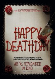 """Movie poster for """"HAPPY DEATH DAY"""""""