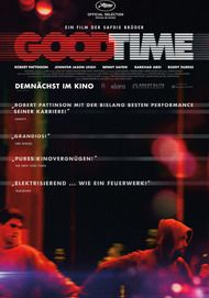 """Movie poster for """"GOOD TIME"""""""
