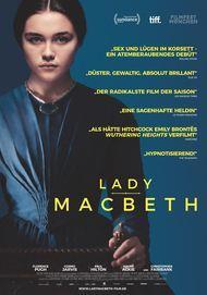 """Filmplakat für """"LADY MACBETH"""""""