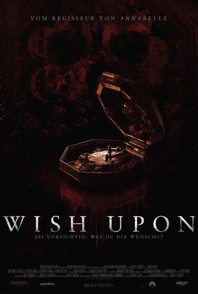 """Filmplakat für """"WISH UPON"""""""