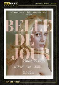 "Movie poster for ""BELLE DE JOUR"""