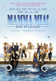 "Filmplakat für ""MAMMA MIA: HERE WE GO AGAIN!"""
