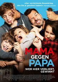 """Filmplakat für """"Mama gegen Papa - Wer hier verliert, gewinnt"""""""