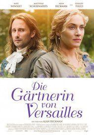 """Filmplakat für """"Die Gärtnerin von Versailles """""""