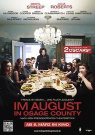"""Filmplakat für """" Im August in Osage County """""""