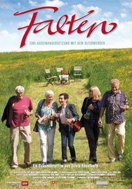 """Movie poster for """"Falten - Eine Auseinandersetzung mit dem Älterwerden"""""""