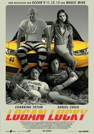"""Filmplakat für """"LOGAN LUCKY"""""""