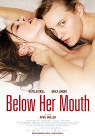 """Filmplakat für """"BELOW HER MOUTH"""""""