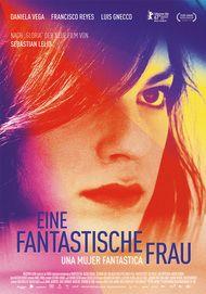 "Movie poster for ""UNE MUJERE FANTASTICA"""