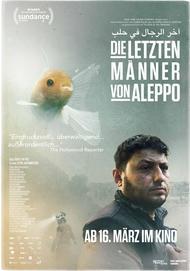 """Movie poster for """"LAST MEN IN ALEPPO"""""""