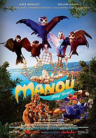 """Movie poster for """"MANOU THE SWIFT"""""""