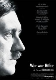 """Filmplakat für """"Wer war Hitler"""""""