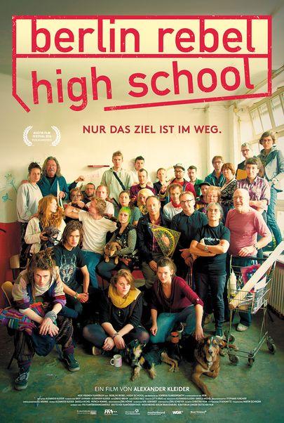"""Filmplakat für """"Berlin Rebel High School"""""""