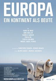 """Filmplakat für """"Europa - ein Kontinent als Beute"""""""