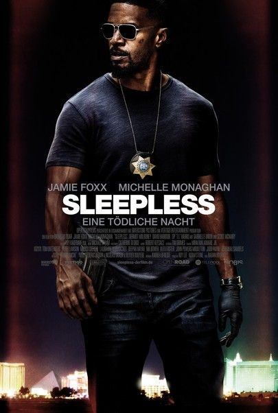 """Movie poster for """"SLEEPLESS"""""""