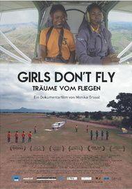 """Filmplakat für """"Girls don't fly - Träume vom Fliegen"""""""