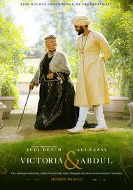 """Filmplakat für """"Victoria & Abdul"""""""