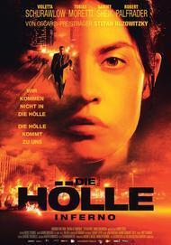 "Movie poster for ""Die Hölle - Inferno"""