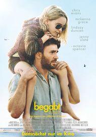 """Filmplakat für """"Begabt - Die Gleichung eines Lebens"""""""