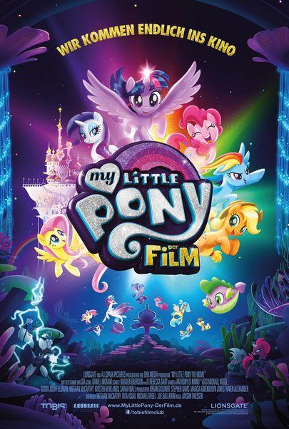 """Filmplakat für """"MY LITTLE PONY : THE MOVIE"""""""