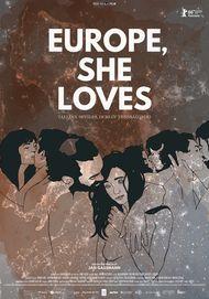 """Movie poster for """"Europe, She Loves"""""""