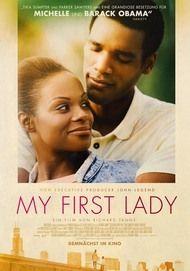 """Filmplakat für """"My First Lady"""""""