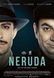 "Movie poster for ""NERUDA"""