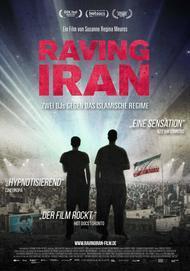 """Filmplakat für """"Raving Iran"""""""